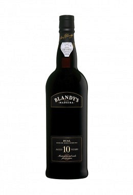 Blandy's 10 years old Bual – halbsüss
