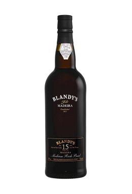 Blandy's 15 years old Bual – halbsüss