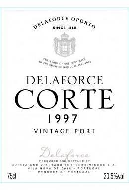 "Delaforce Vintage Port 1997 ""Quinta da Corte"""