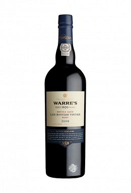 Warre's LBV 2008 bottled 2012