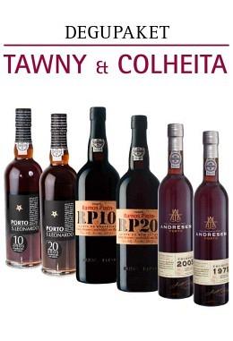 Degu-Paket 5: Tawny & Colheita